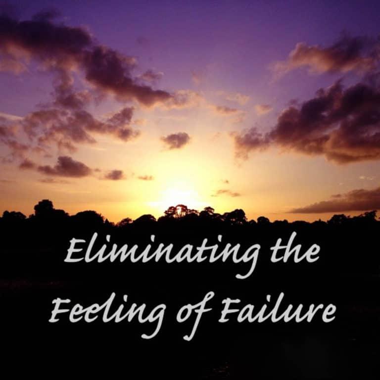 Eliminating the Feeling of Failure