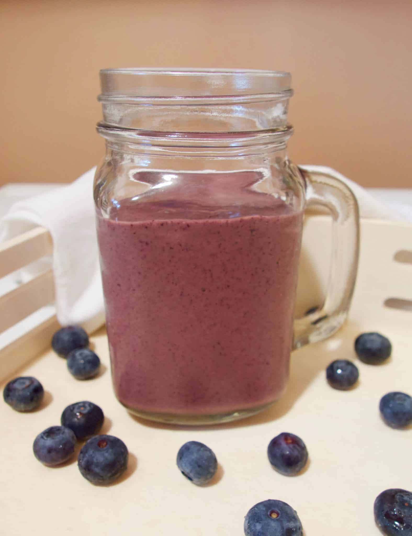 A delicious smoothie recipe using the BEST vegan protein powder out there.