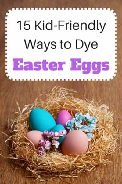 Are you looking for some new ideas for dyeing eggs? Here's a round-up of 15 kid-friendly ways to dye Easter eggs. I particularly like #12!