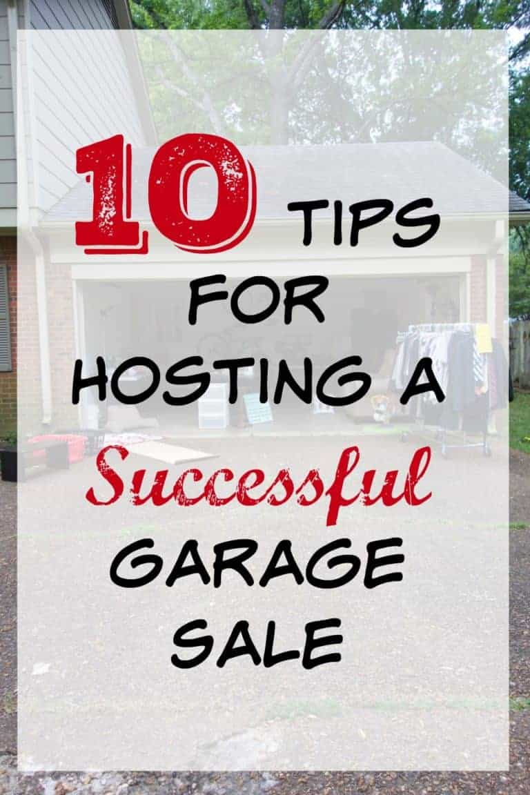10 Tips for Hosting a Successful Garage Sale