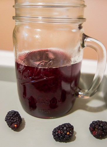 This fresh squeezed blackberry lemonade is absolutely divine. The blackberry simple syrup is easy to make and perfectly compliments some fresh squeezed lemon juice. A super refreshing drink on a hot day.