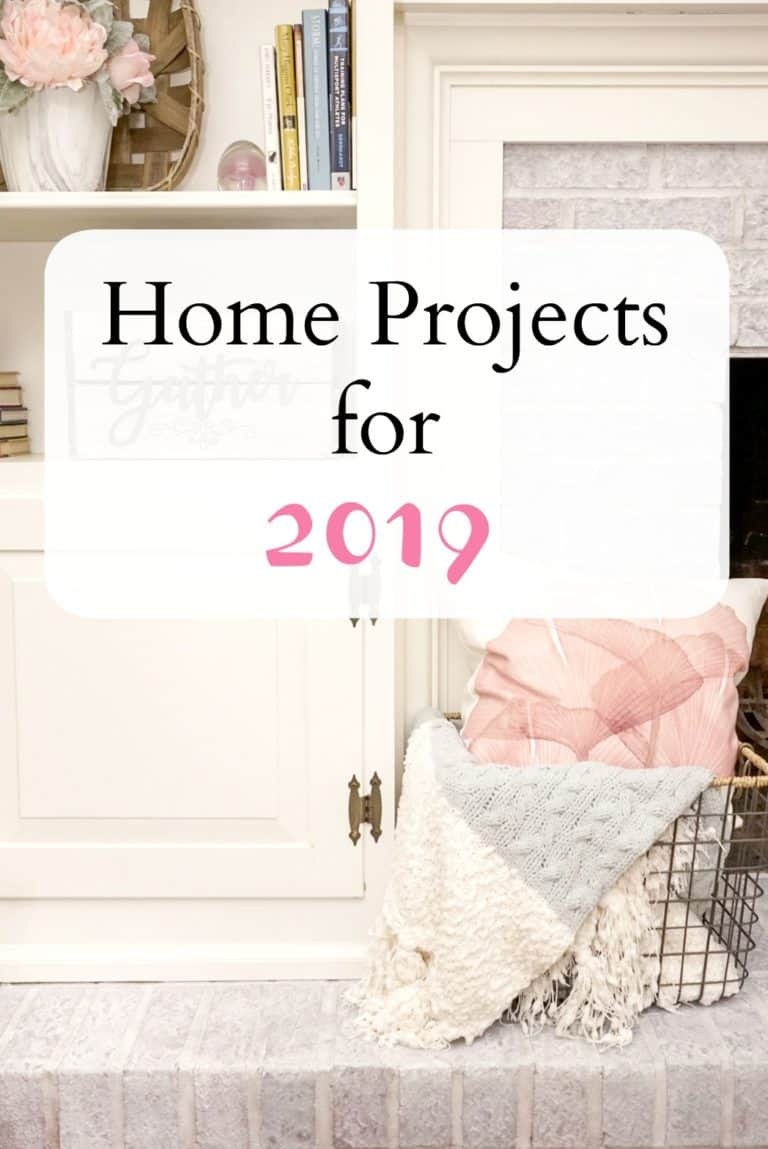 Home Projects for 2019