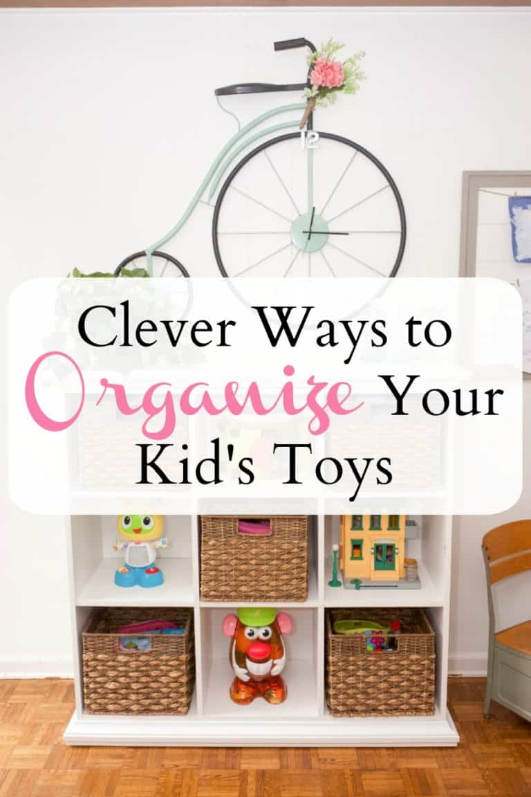Clever Ways to Organize Your Kid's Toys