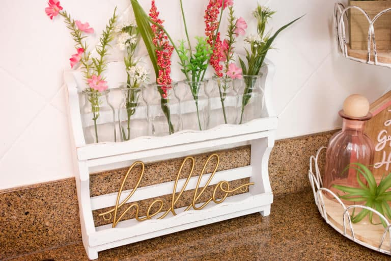 Simple Spice Rack Upcycle