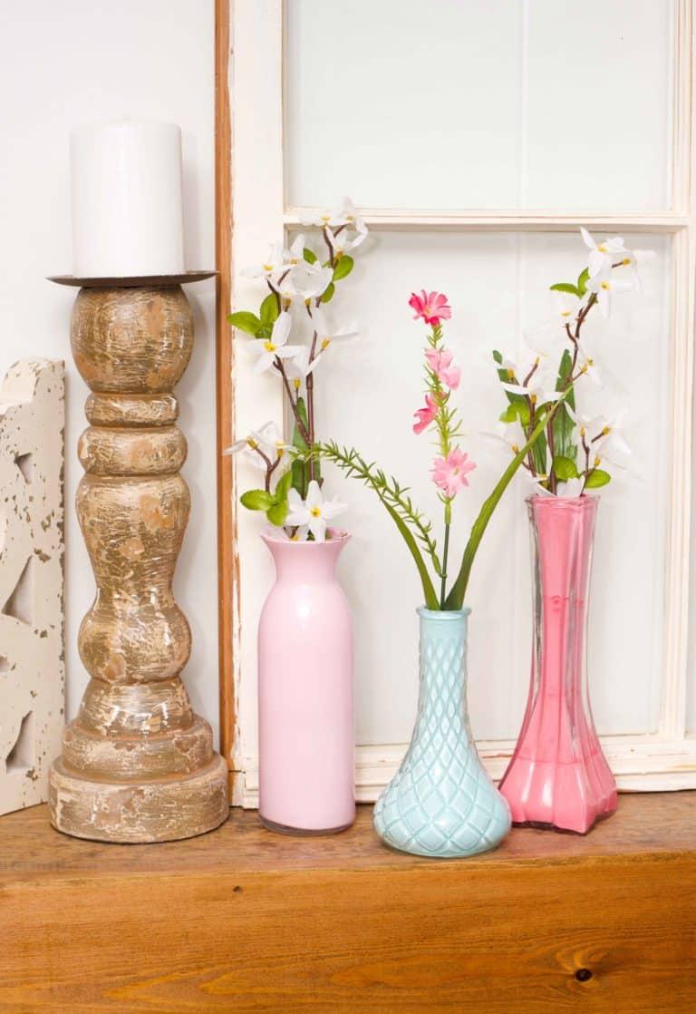 Easy DIY Painted Vases