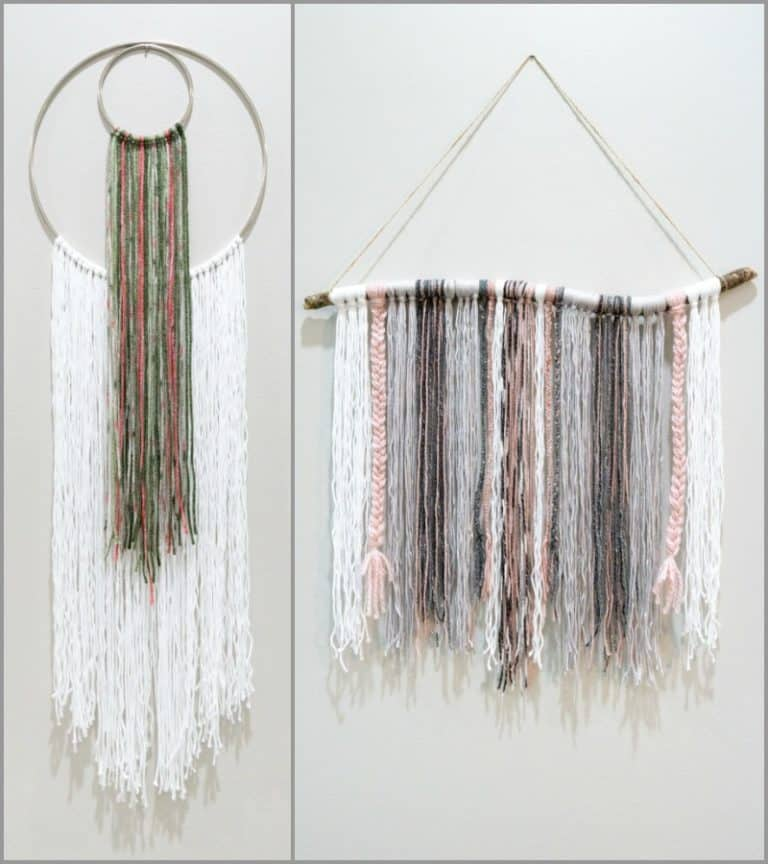 Easy DIY Yarn Hanging Tutorial