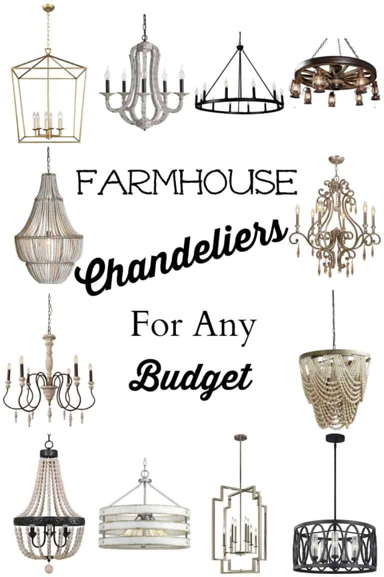Farmhouse Chandeliers For Any Budget