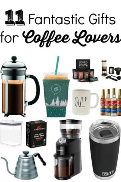 Do you know someone who loves coffee? If so, here are 12 fantastic gifts for coffee loversthat you'll definitely want to check out!