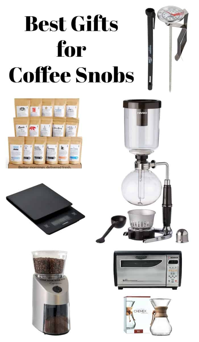 Do you know someone who is obsessed with coffee? If so, here are some amazing gift recommendations for all of the coffee snobs in your life.