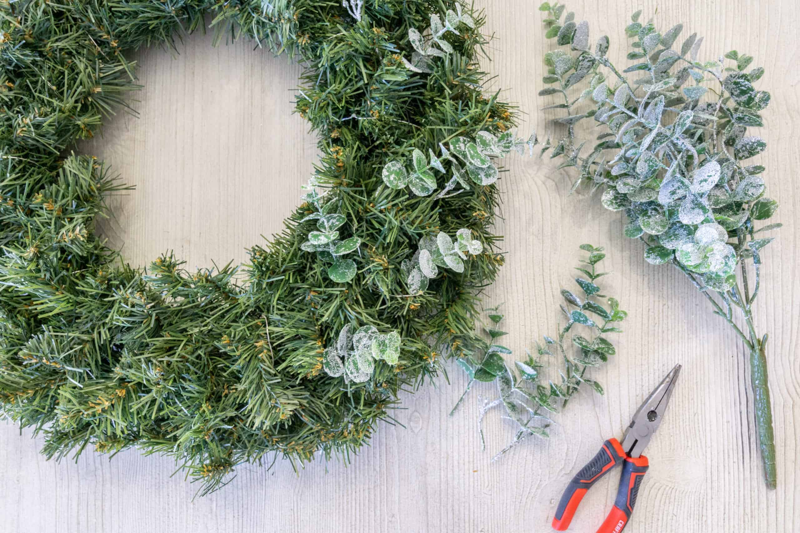 Wreaths are the perfect touch for any style of Christmas decor. Here are some tips, as well as a step-by-step tutorial, for how to make a cheap Christmas wreath.