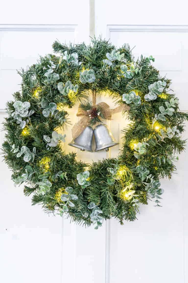 How to Make a Cheap Christmas Wreath