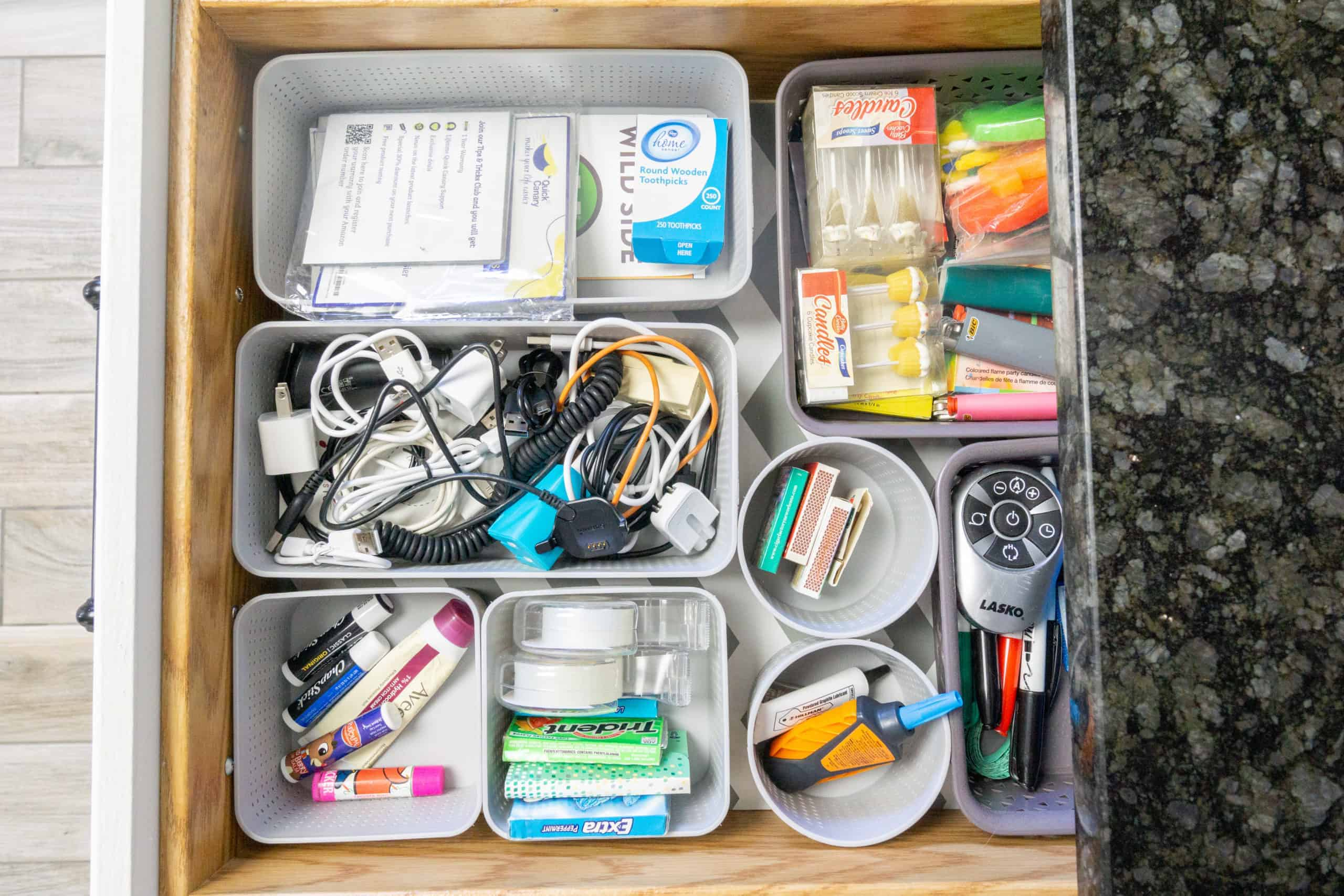 Let me show you how to organize the junk drawer for good. It is a fast an easy project that can have a big impact within your home.