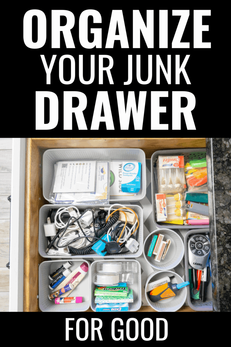 How to Organize the Junk Drawer For Good