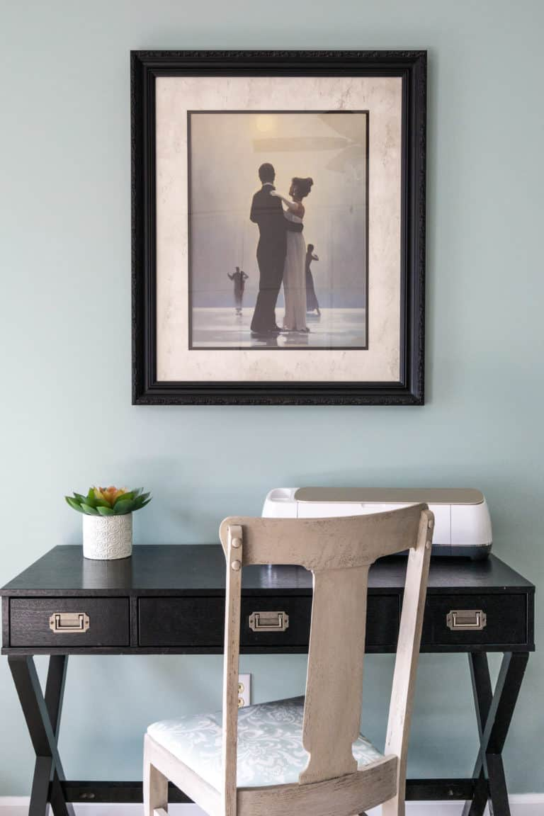 How to Cheaply Update Framed Art